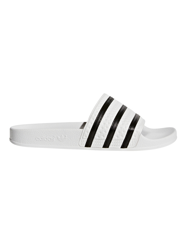 Adidas Adilette Slipper (white/black/white)
