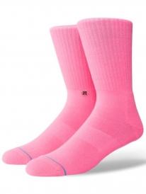 Stance Icon Anthem Socken (florescent pink)