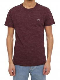 Iriedaily Chamisso T-Shirt (maroon melange)