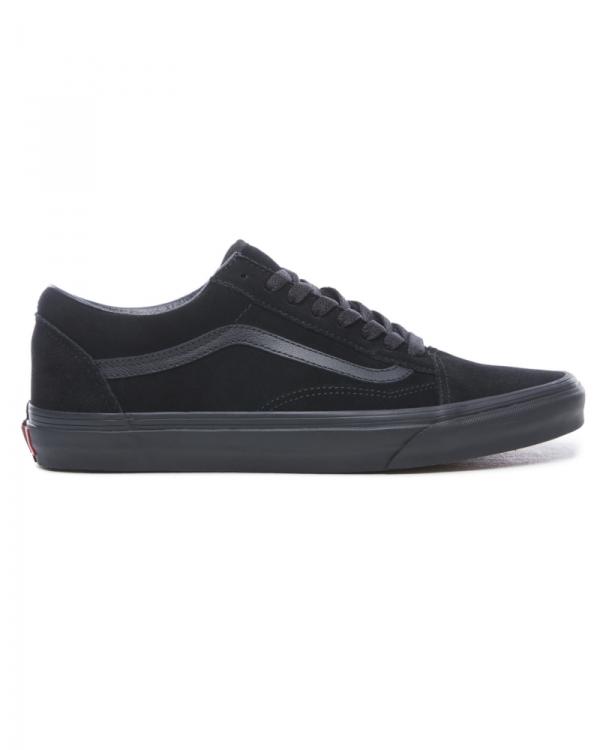 Vans Old Skool Suede (blackblackblack) | Schuhe
