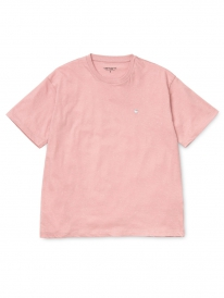Carhartt WIP Neps Chase T-Shirt (soft rose/white)