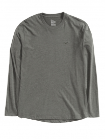Cleptomanicx Ligull Longsleeve (heather dark olive)