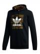 Adidas Camo BB Hoodie (black/camo print/collegiate orange)