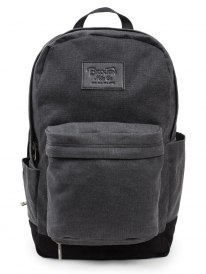 Brixton Basin Rucksack (black canvas)