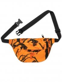 Carhartt WIP Payton Hip Bag (camou tree orange/black)