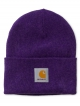 Carhartt WIP Acrylic Watch Hat (frosted viola heather)