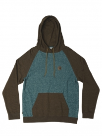 Hippytree Fullerton Hoodie (heather chocolate)