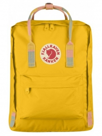 Fjällräven Kanken Rucksack (warm yellow/random blocked)
