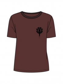 Element Chimney T-Shirt (wine)