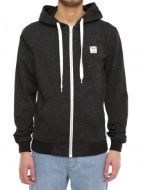 Iriedaily On Point Zip Hoodie (black melange)