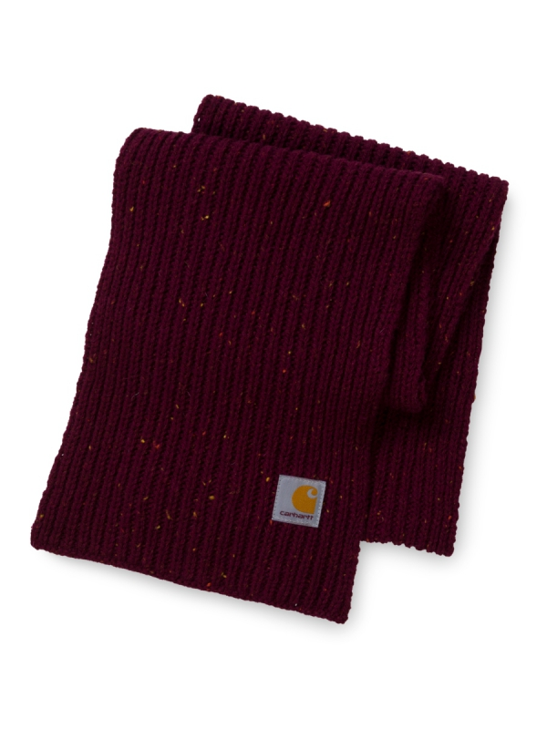 Carhartt WIP Anglistic Plain Schal (mulberry heather)