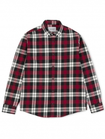 Carhartt WIP Lessing Hemd (lessing check/mulberry)