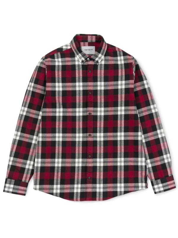Carhartt WIP Lessing Hemd (lessing check/mulberry)