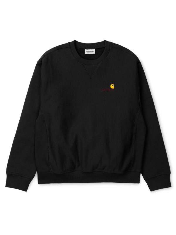 Carhartt WIP American Script Sweater (black)