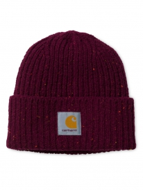 Carhartt WIP Anglistic Beanie (mulberry heather)