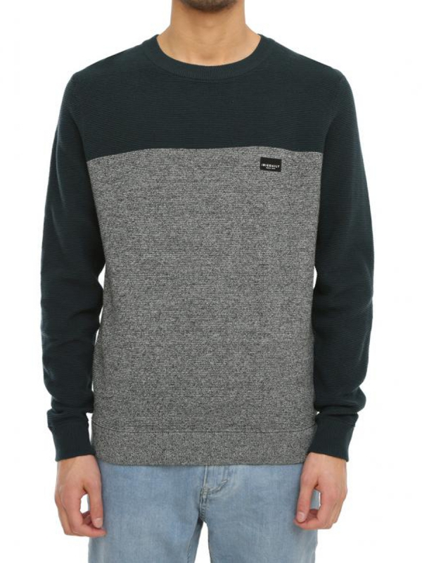 Iriedaily Auf Deck Stripe Strick Sweater (salt n pep)