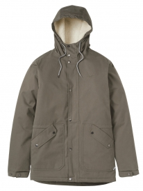 Cleptomanicx Larum Winter Jacke (dusty olive)