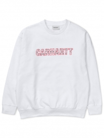Carhartt WIP W Hearts Sweater (white)