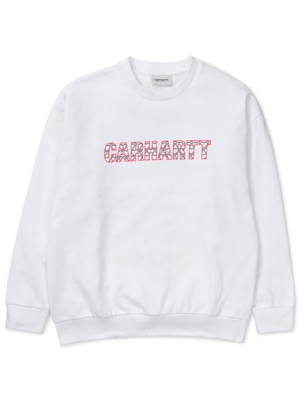 Carhartt WIP W Hearts Sweater (white)