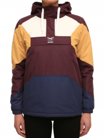 Iriedaily Color Up Windbreaker (aubergine)
