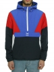 Iriedaily Get Down Pull Up Windbreaker (navy red)