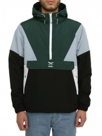 Iriedaily Get Down Pull Up Windbreaker (hunter)