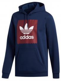 Adidas Solid Blackbird Hoodie (conavy/burgundy/white)