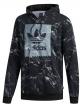 Adidas Marble Aop Blackbird Hoodie (black/white)