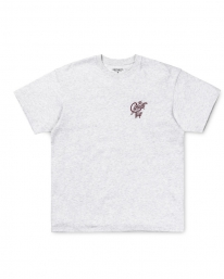 Carhartt WIP Jack Script T-Shirt (ash heather/mulberry)