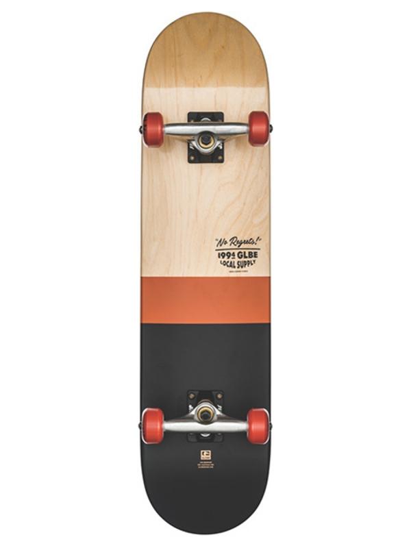 Globe Half Dip 2 Komplett Skateboard 7.75 Inch (natural/rust)