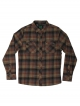 Hippytree Sheldon Flannel Hemd (rust)
