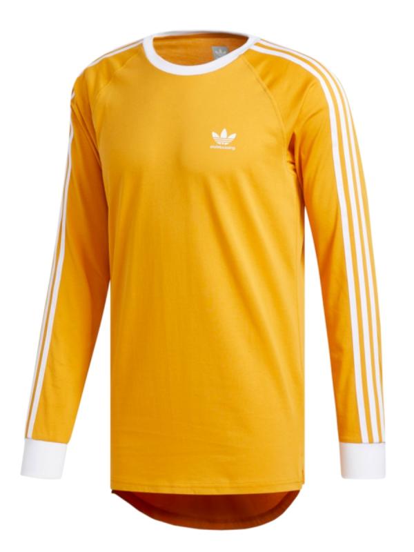 Adidas California 2.0 Longsleeve (tactical yellow/white)