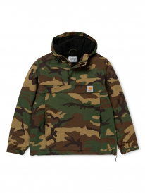 Carhartt WIP Nimbus Pullover Winter Windbreaker (camo laurel)