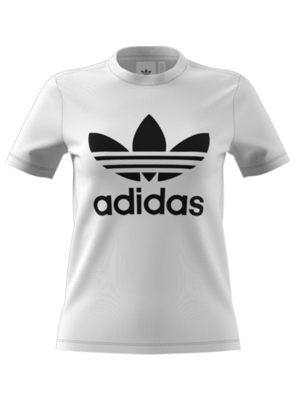 Adidas Trefoil T-Shirt (white/black)