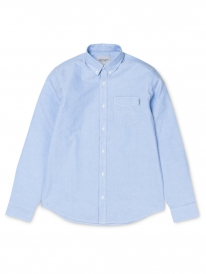 Carhartt WIP Button Down Pocket Hemd (bleach)
