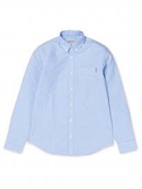 Carhartt WIP Button Down Pocket Hemd (bleach)