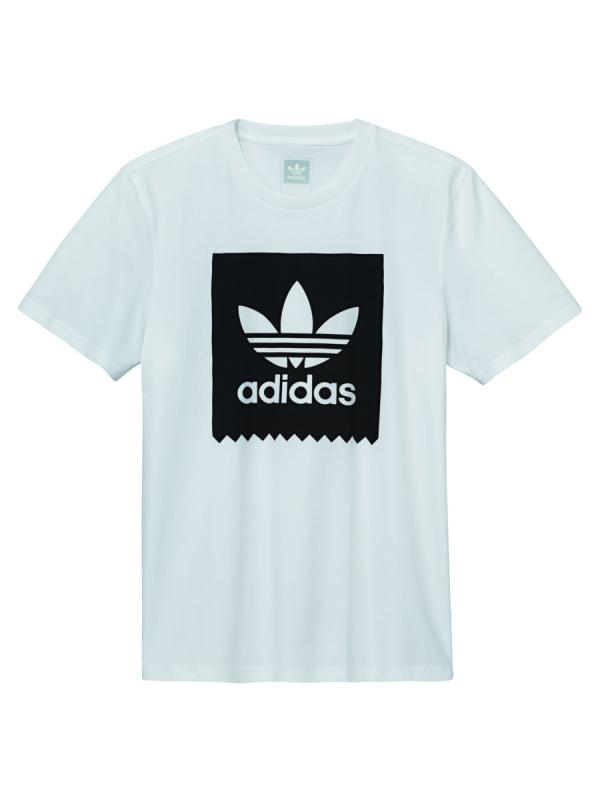 Adidas Solid Blackbird T-Shirt (white/black)