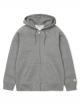 Carhartt WIP Chase Zip Hoodie (dark grey heather/gold)