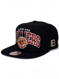 Mitchell & Ness Cleveland Cavaliers Black Team Arch Cap (black)