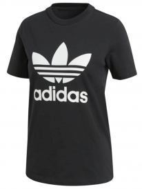 Adidas Trefoil T-Shirt (black/white)