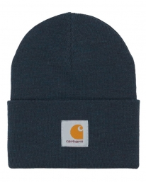 Carhartt WIP Acrylic Watch Hat Beanie (dark navy heather)