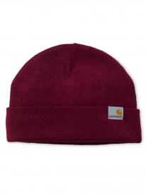 Carhartt WIP Stratus Low Beanie (mulberry)