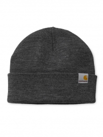 Carhartt WIP Stratus Low Beanie (dark grey heather)