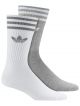 Adidas Solid Crew Socken 2 Paar (grey/white)