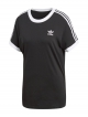 Adidas 3 Stripes T-Shirt (black/white)