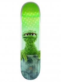 Globe Sesame Street Oscar The Grouch Skateboard Deck 8.25 Inch