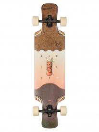 "Globe Geminon Kick 37"" Komplett Longboard (coconut/tiki)"