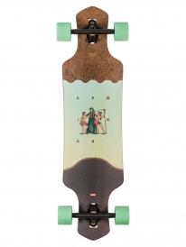 "Globe Geminon 35"" Komplett Longboard (coconut/reaper)"