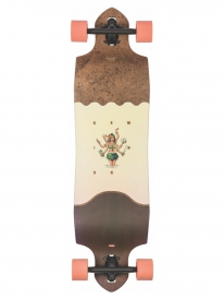 "Globe Geminon Micro-Drop 37"" Komplett Longboard (coconut/hula)"