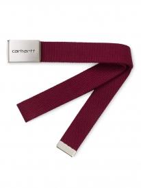 Carhartt WIP Clip Chrome Gürtel (mulberry)